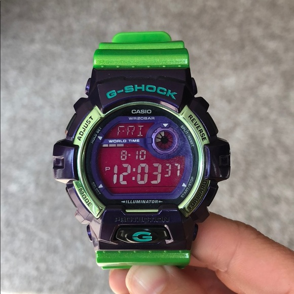 5c6f62641 G-Shock Accessories | Limited Edition Crazy Colors Gshock | Poshmark
